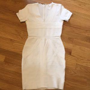 sexy white bandage dress!